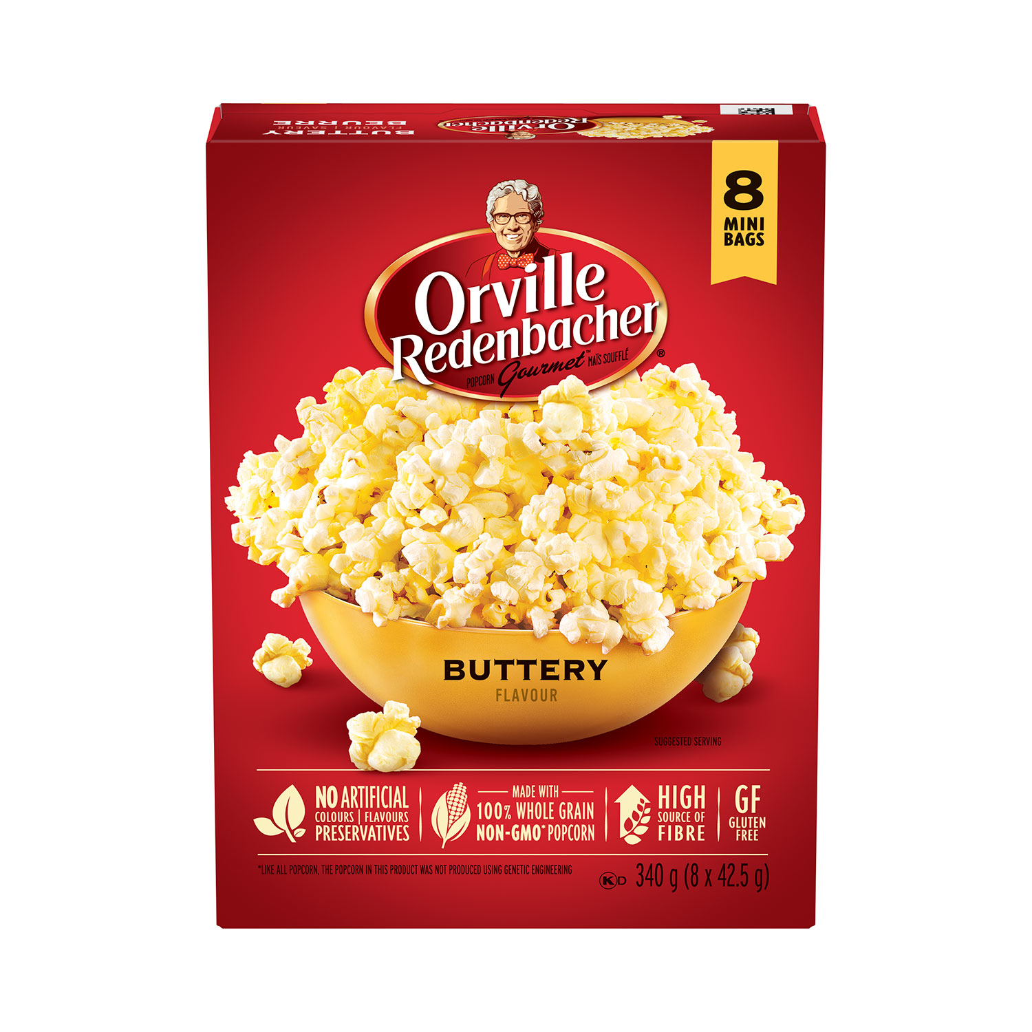 Buttery Microwave Popcorn Mini Bags