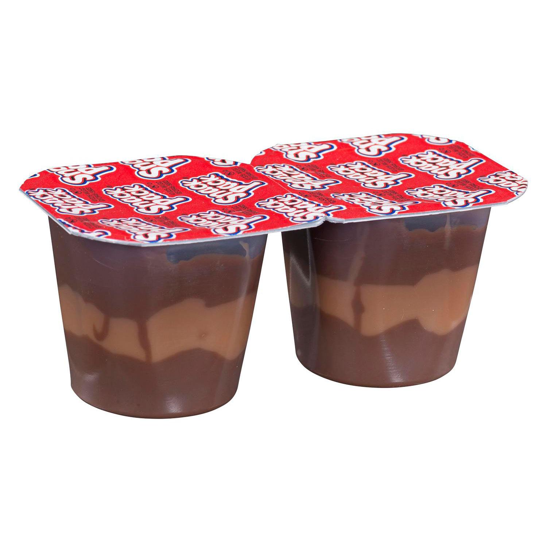 Chocolate Caramel Swirls Dessert Snack