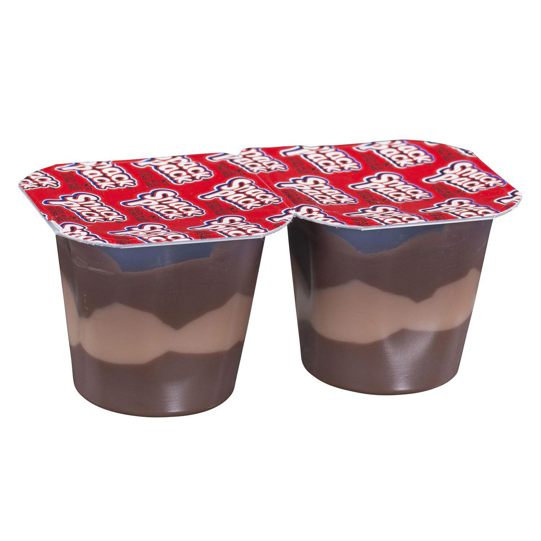 Chocolate Vanilla Triples Dessert Snack