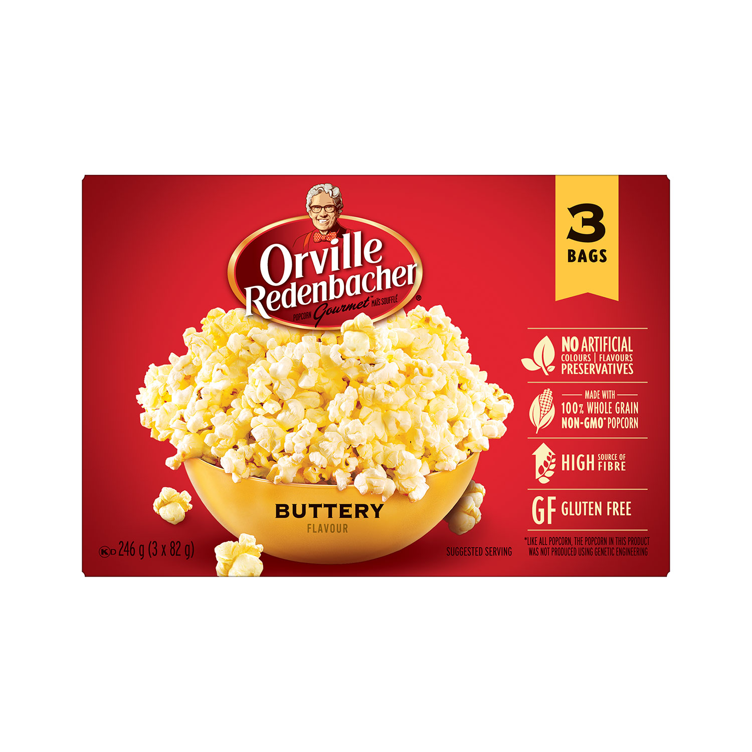 Buttery Microwave Popcorn