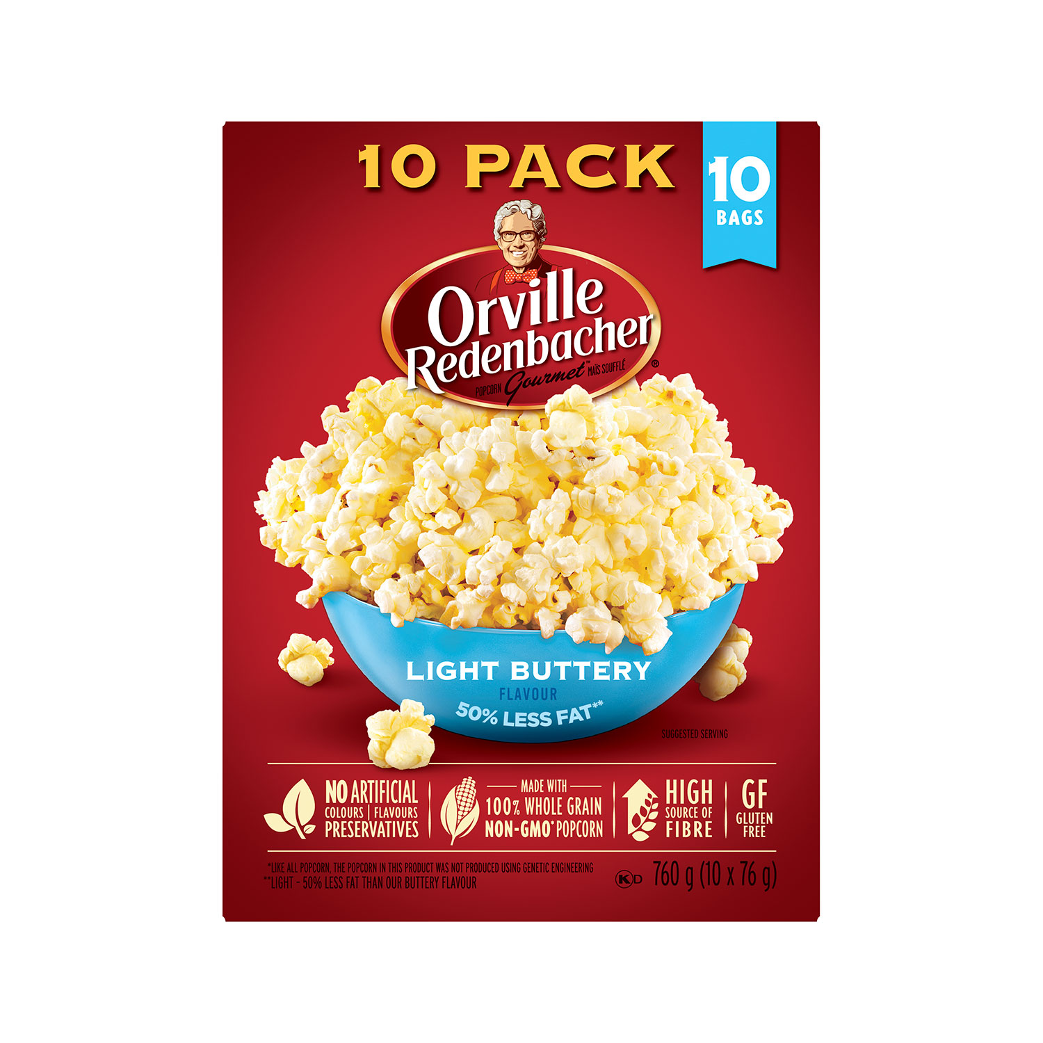 Light Microwave Popcorn