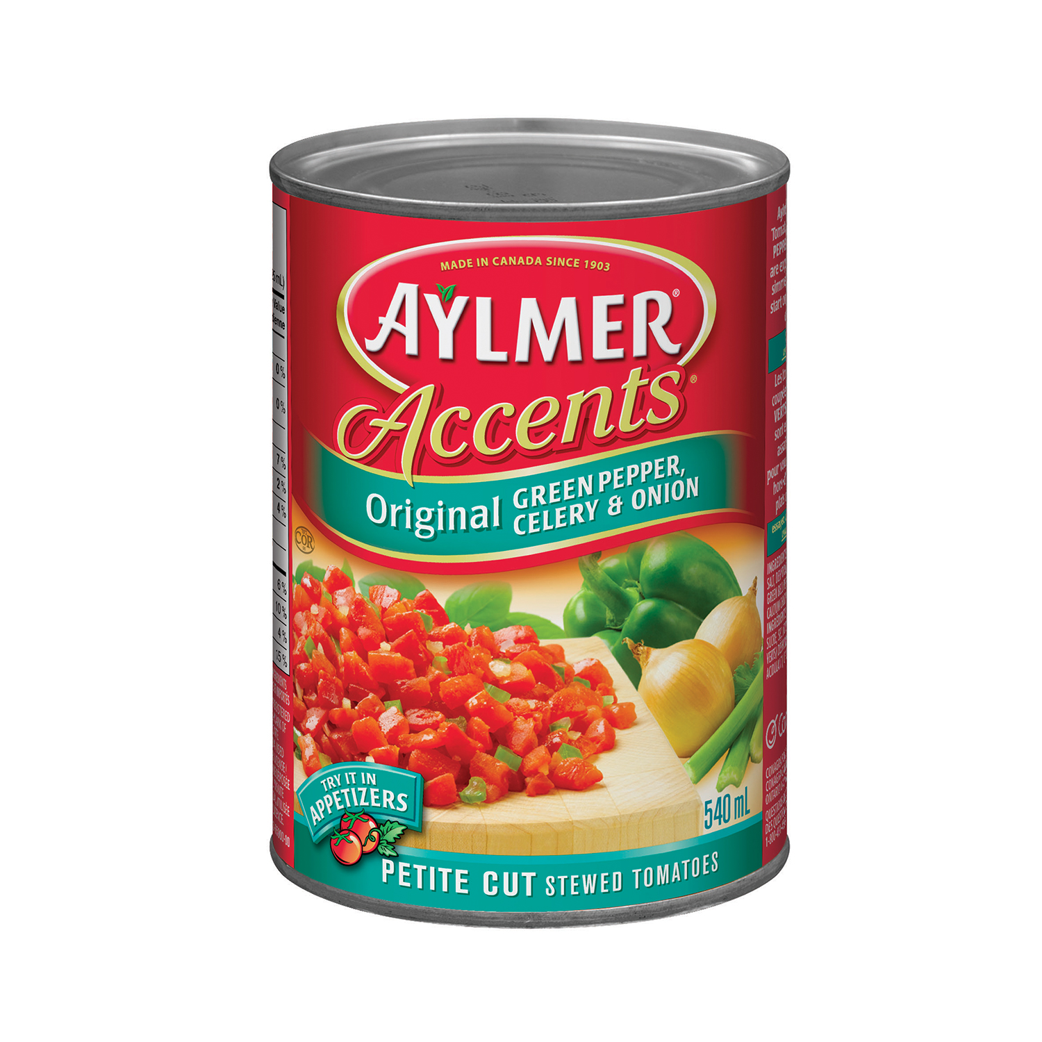 Aylmer Accents Petite Cut Original Stewed