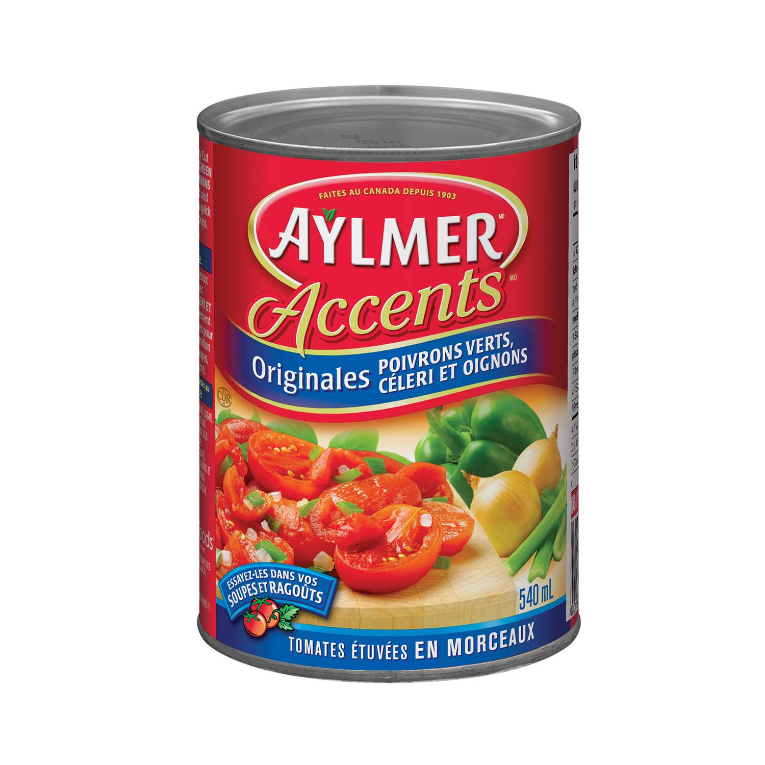 Aylmer Accents Original Stewed